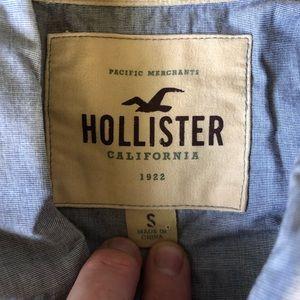 Hollister Shirts - Hollister Short Sleeve Snap Button Shirt GUC